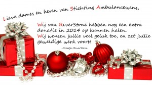 Donatie riverstone